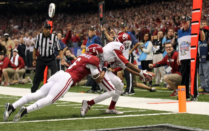 Top Five Oklahoma Wide Receivers of the BCS Era