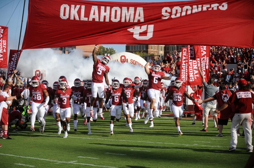Oklahoma Football Schedule For 2017 Has Sooners Hosting West
