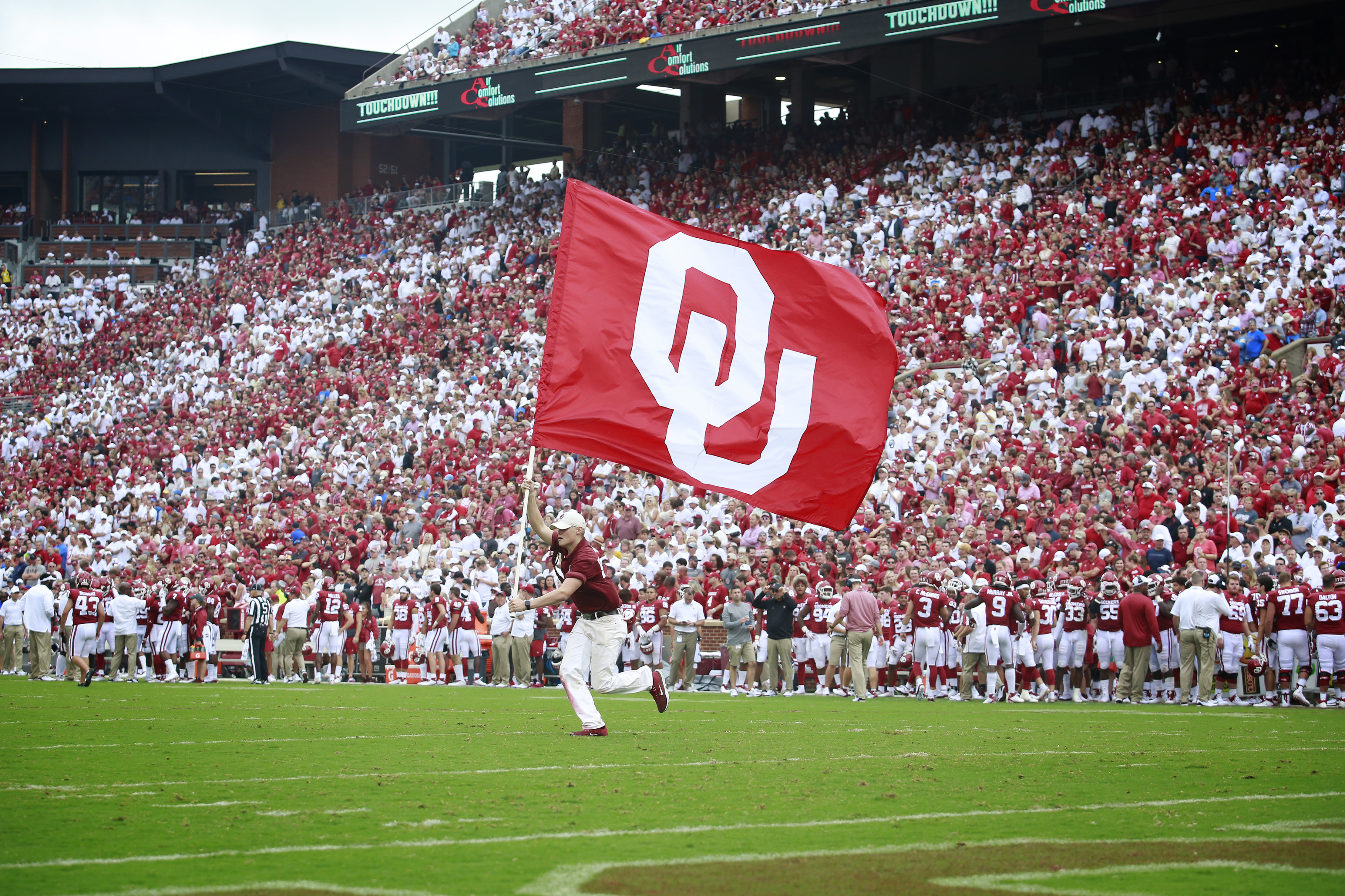 Oklahoma football: Sooners return to top 10 in national ...