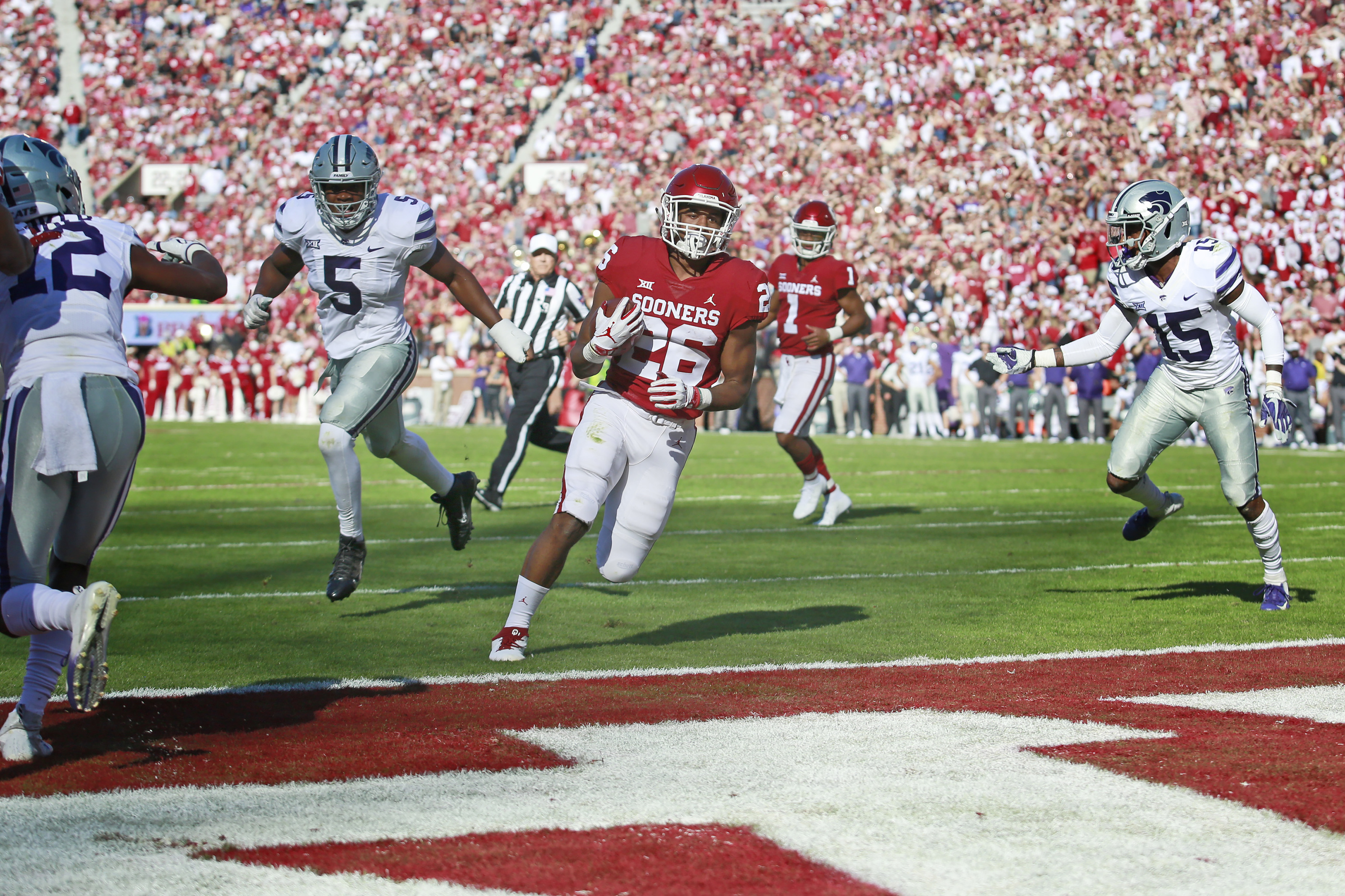 Oklahoma football: Sooner RB situation goes from fretful to fruitful