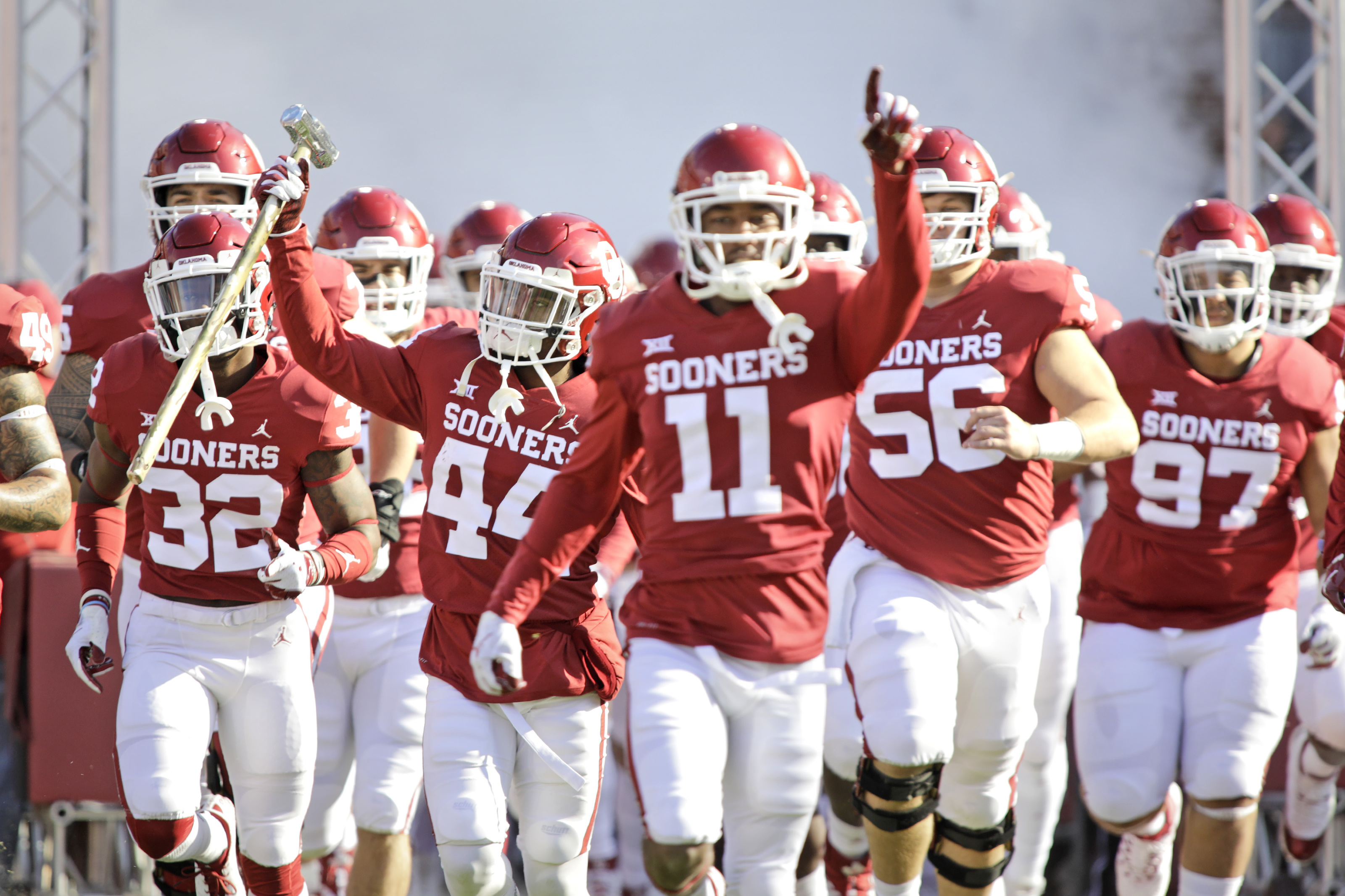 Oklahoma Football Sooners No Strangers To Top 5 Season Starts