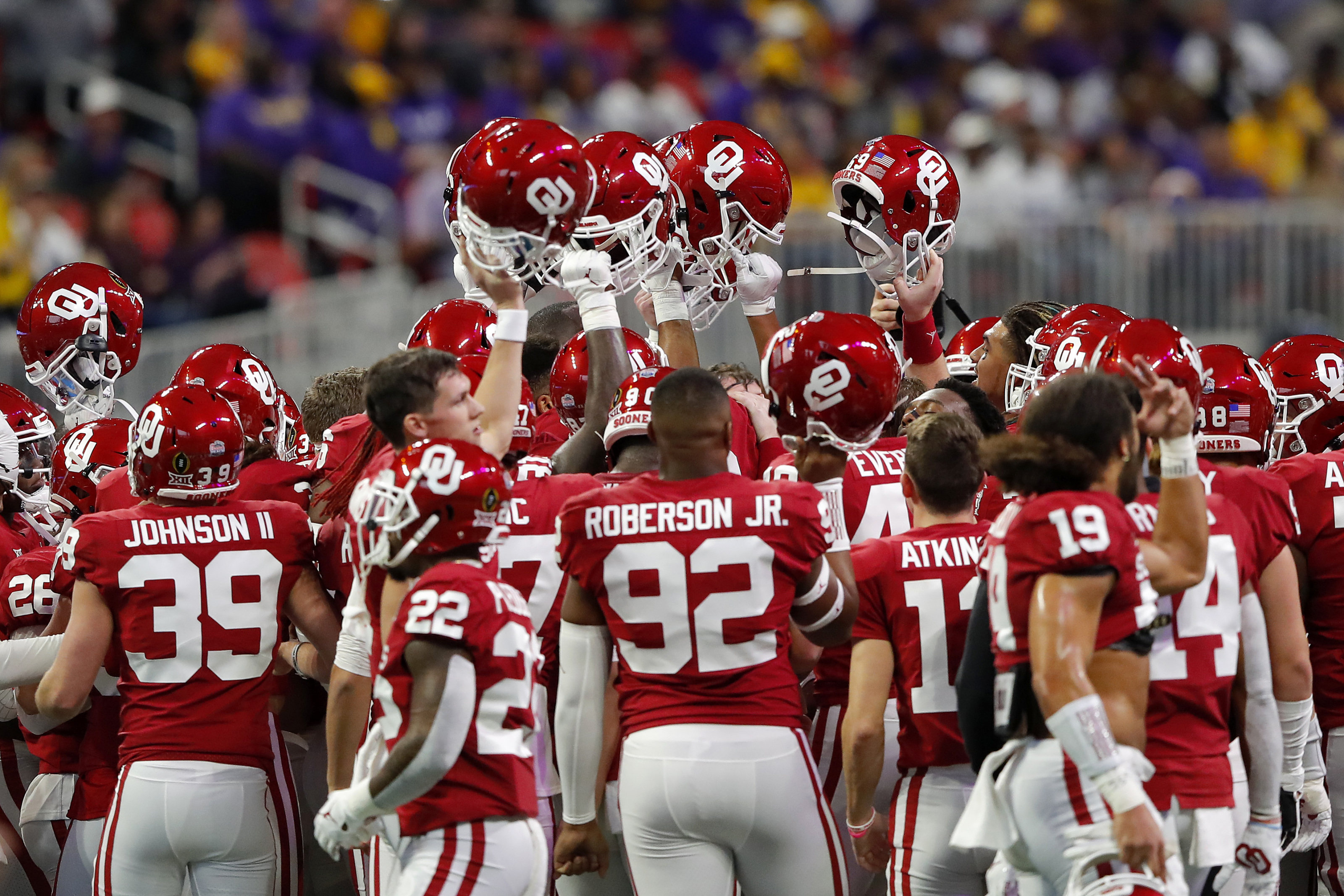 Oklahoma Football Sooners Hold Winning Record Over Every Major Conference