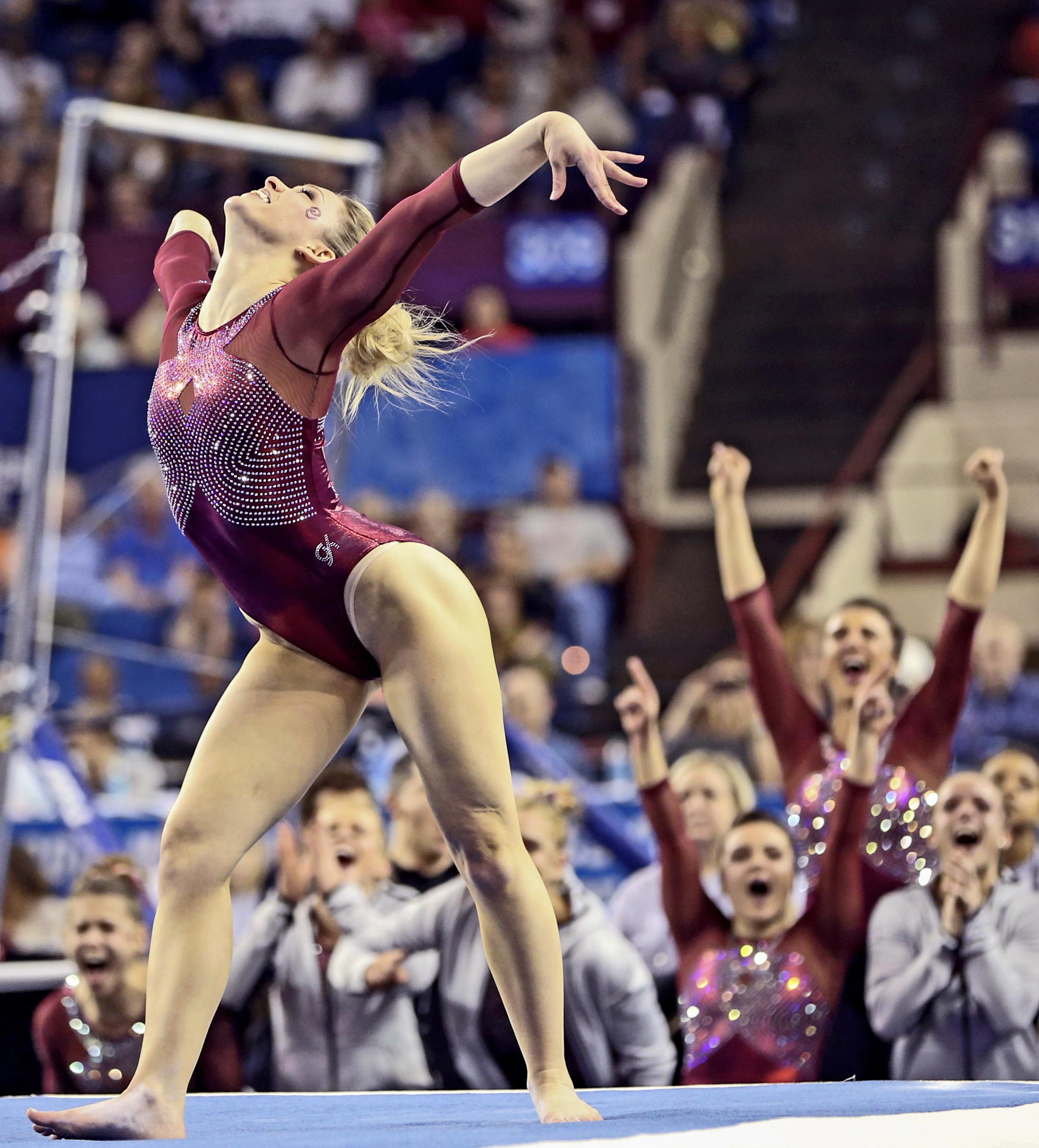 Oklahoma Gymnastics Tops the Charts - Both Men and Women